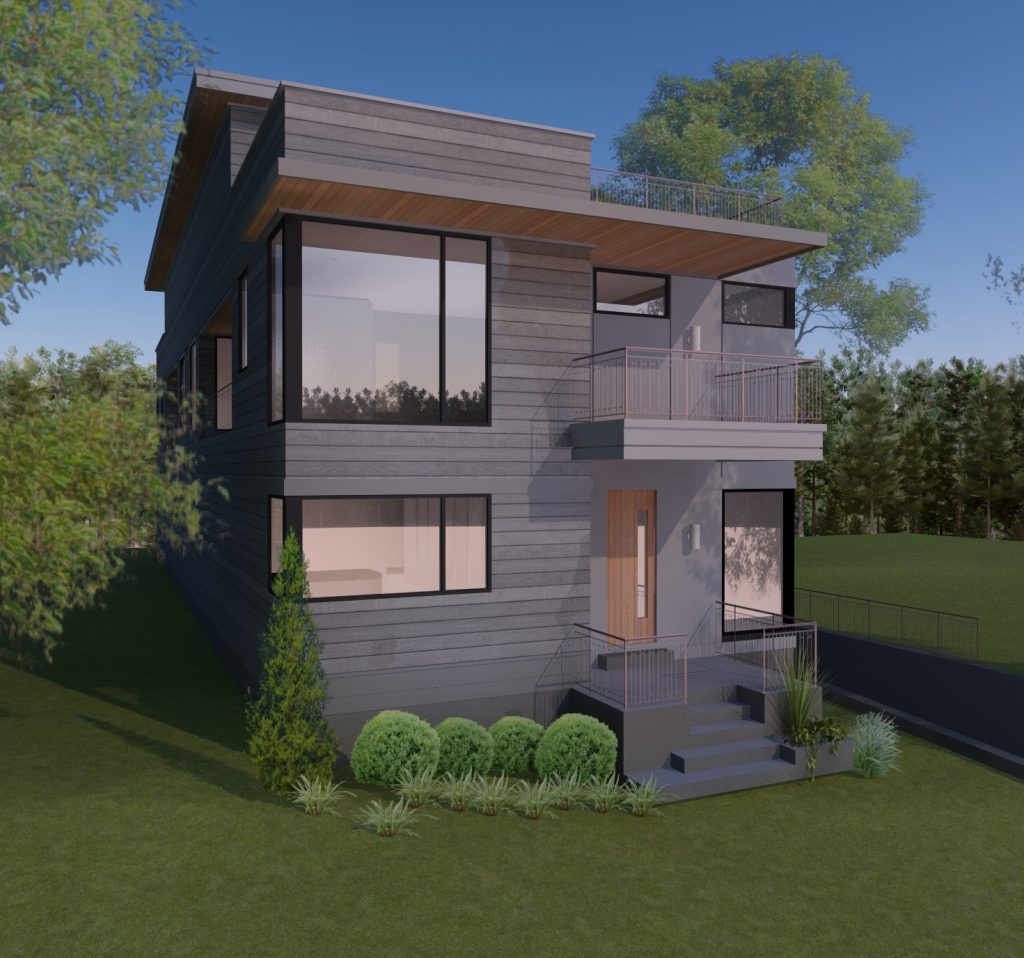 WilliamMarkDesigns Angier Duplex Unit B 3D Rendering