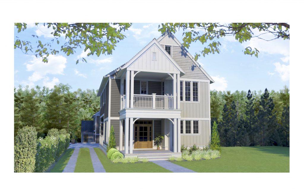 WilliamMarkDesigns Boulevard Property 3D Rendering