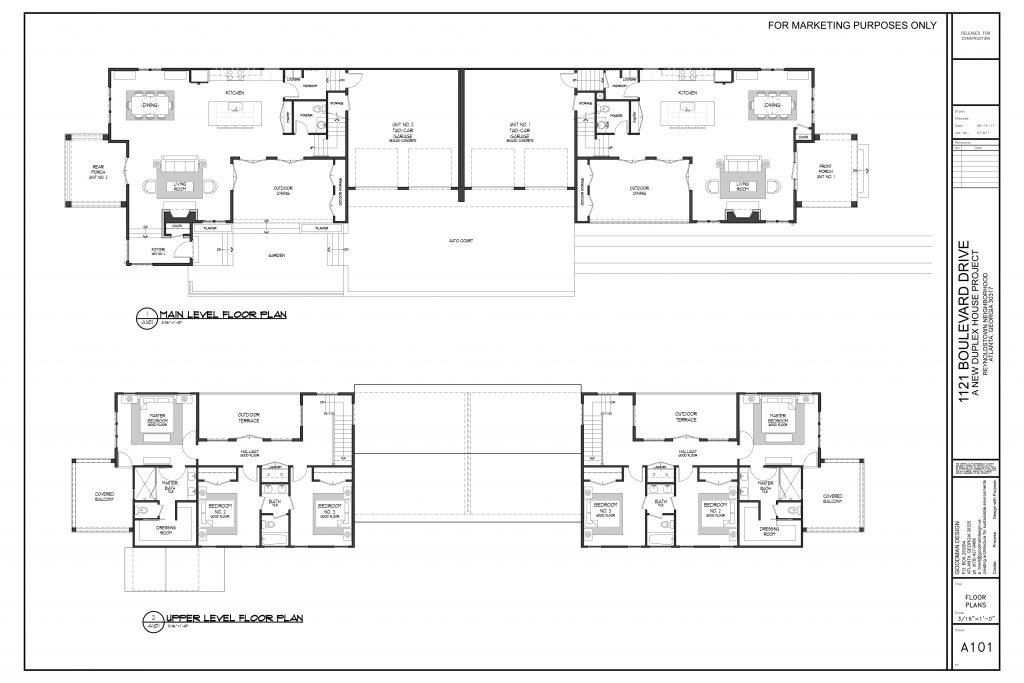 WilliamMarkDesigns Boulevard Property Floorplan