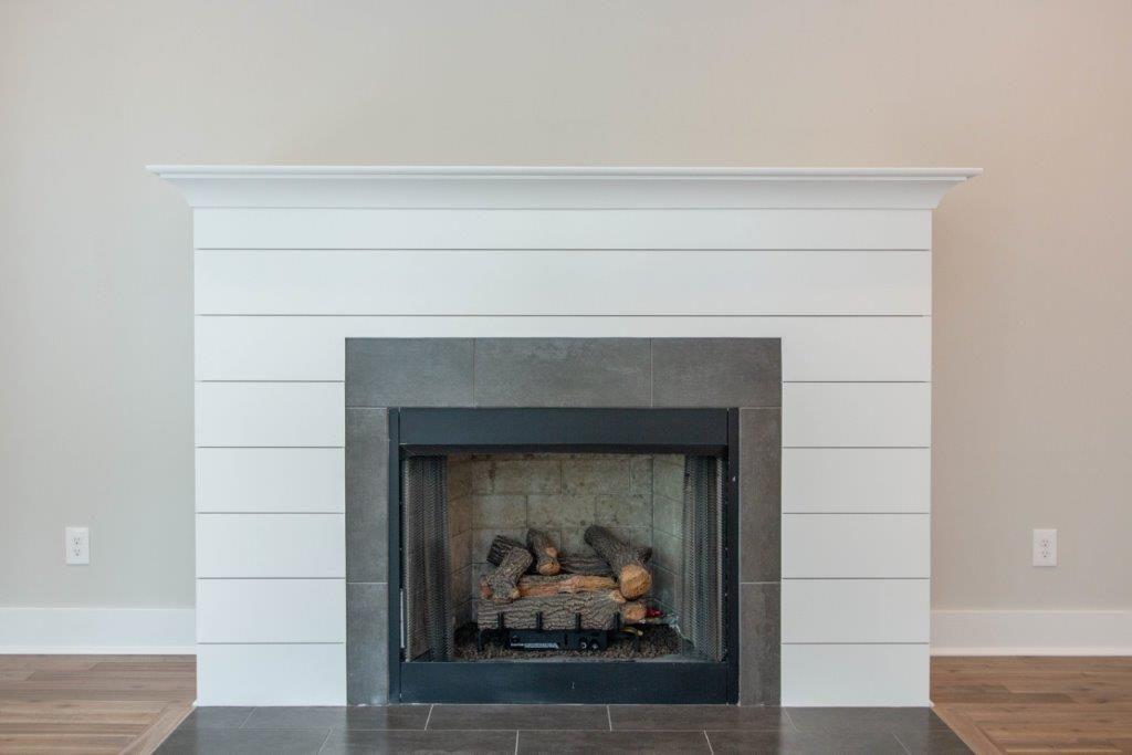 WilliamMarkDesigns Glendale Duplex Shiplap Fireplace
