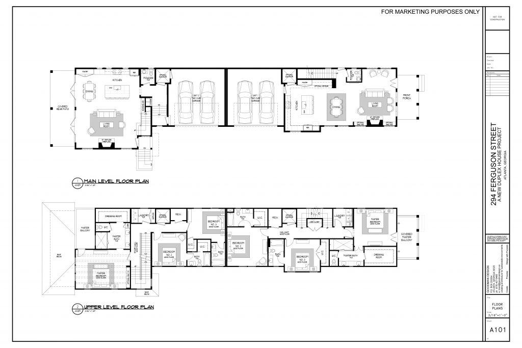 294 Ferguson Street main level floor plan