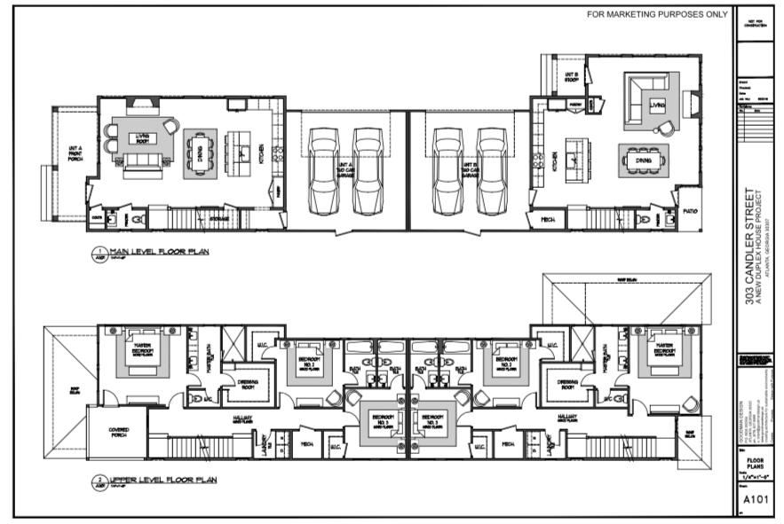 WilliamMarkDesigns 303 Candler Street Floor Plan