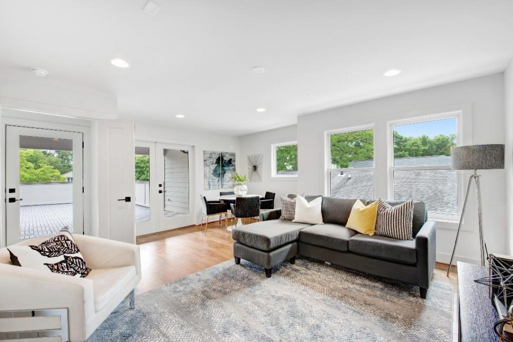 WMD Ferguson Street Living Room Staged