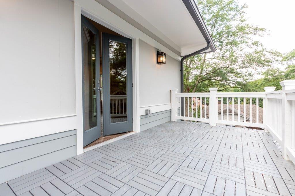 WilliamMarkDesigns Glendale Duplex Master Bedroom Balcony