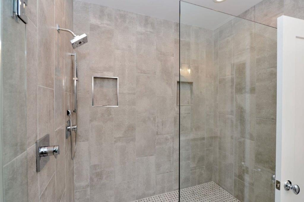 WilliamMarkDesigns Glendale Duplex Master Bathroom Shower