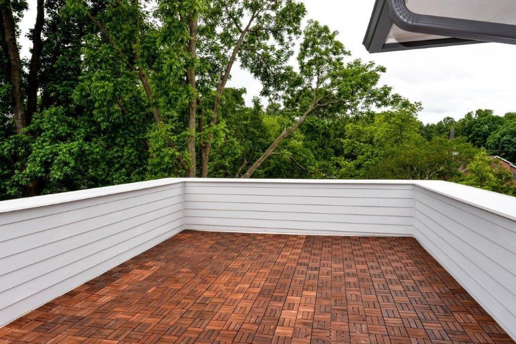 WilliamMarkDesigns Glendale Duplex Rooftop Deck