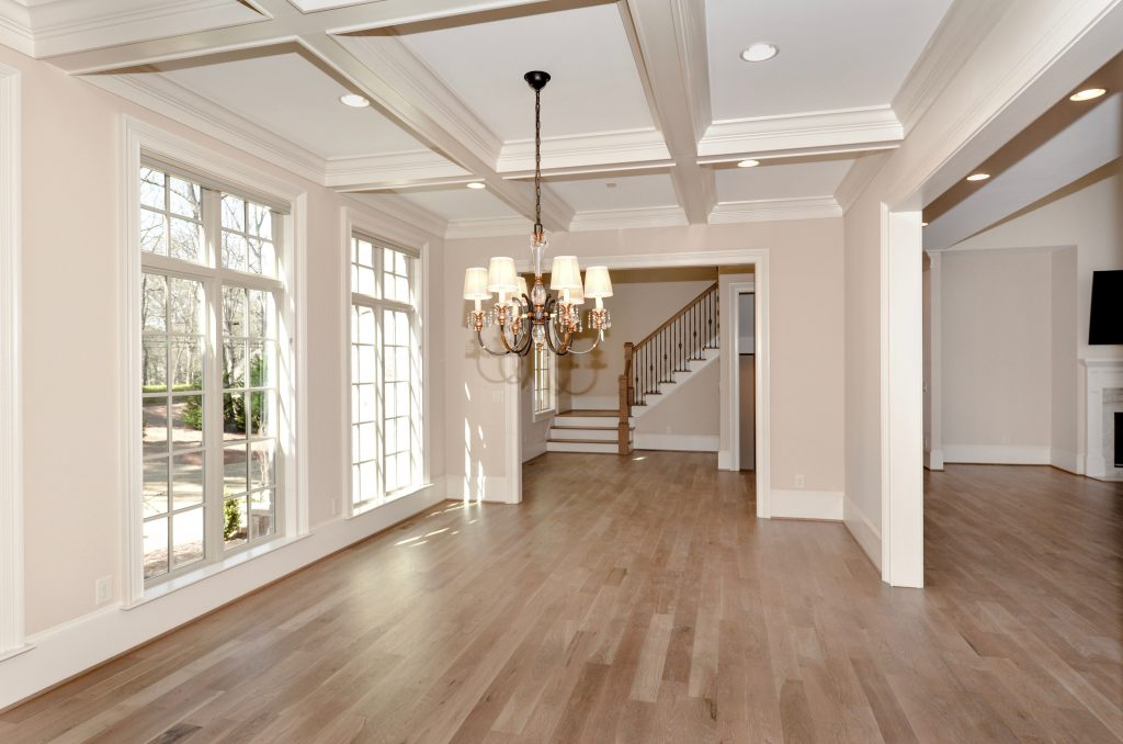 WilliamMarkDesigns S. Johnson Ferry Road Dining Room Ceiling