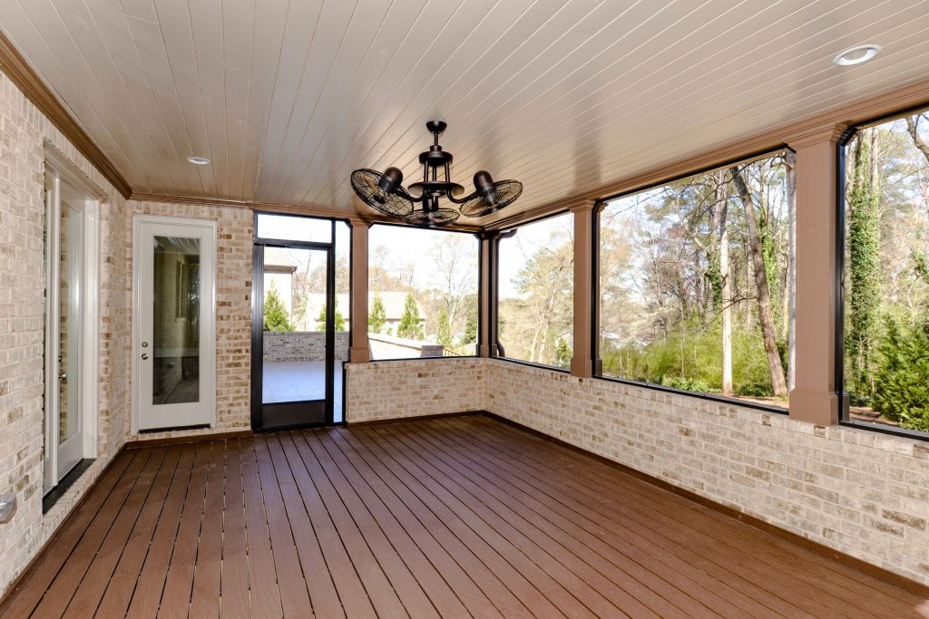 WilliamMarkDesigns S. Johnson Ferry Road Covered Patio