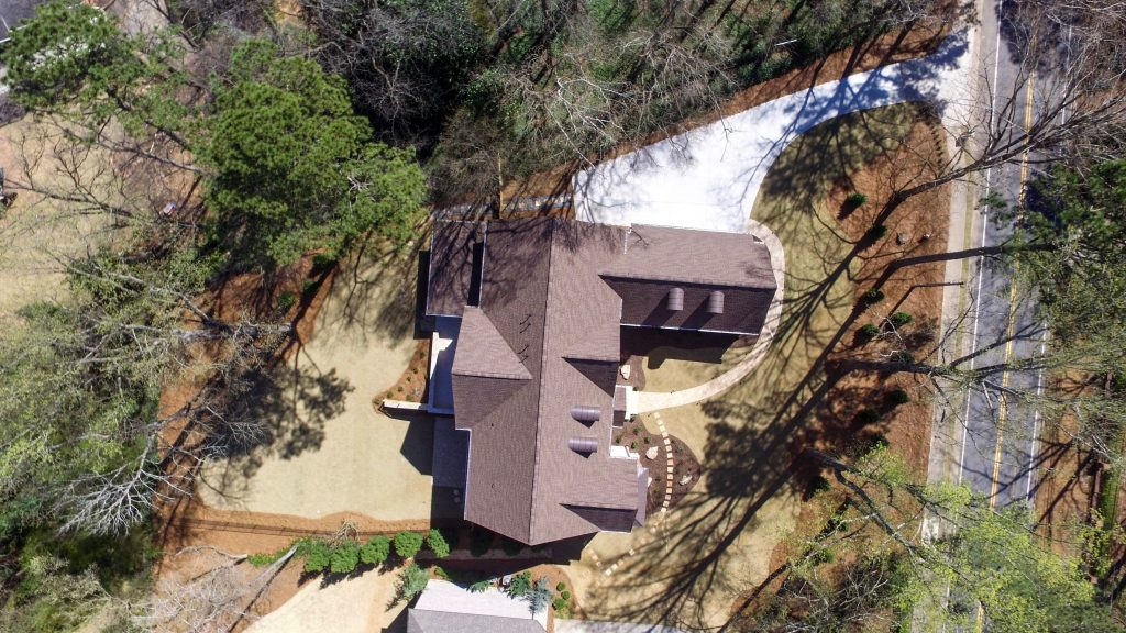 WilliamMarkDesigns S. Johnson Ferry Road Property Aerial View