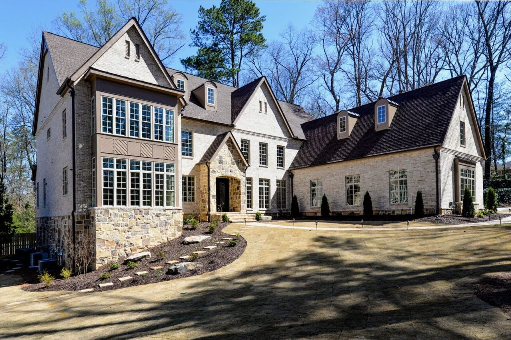 WilliamMarkDesigns S. Johnson Ferry Road Property Front View