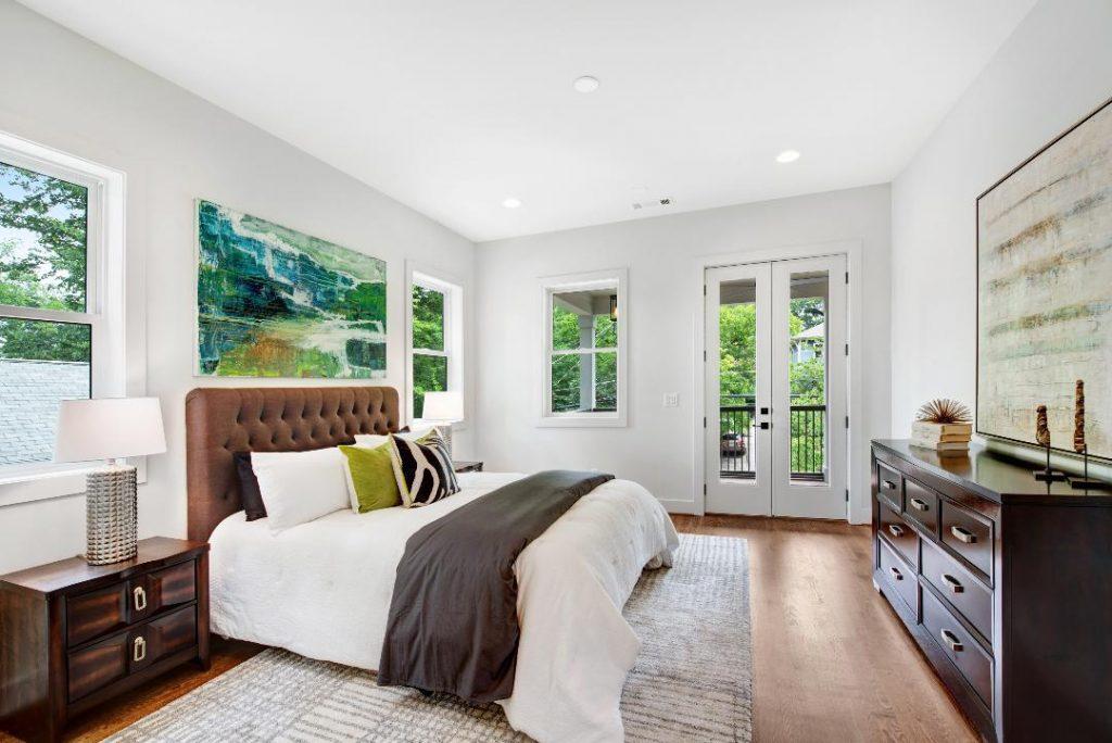 WMD Ferguson Street Bedroom Staged