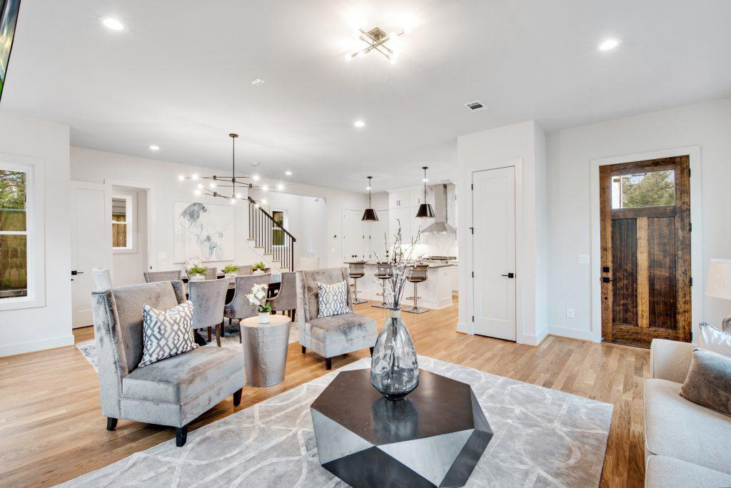 WMD 303 & 305 Candler Furnished Living Room 2